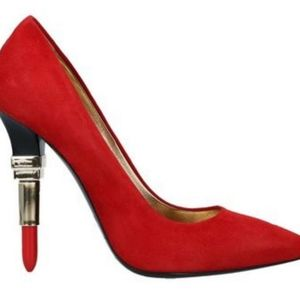 Alberto Guardiani PUMP IN RED
